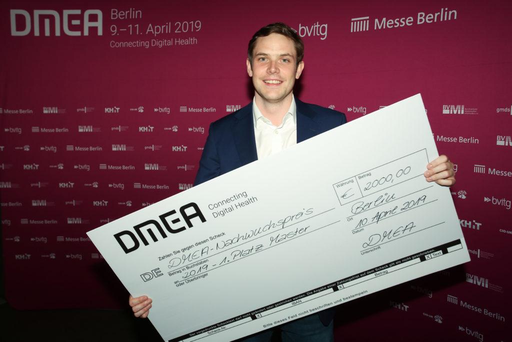 DMEA Young Investigators Award Dr. Arne Peine