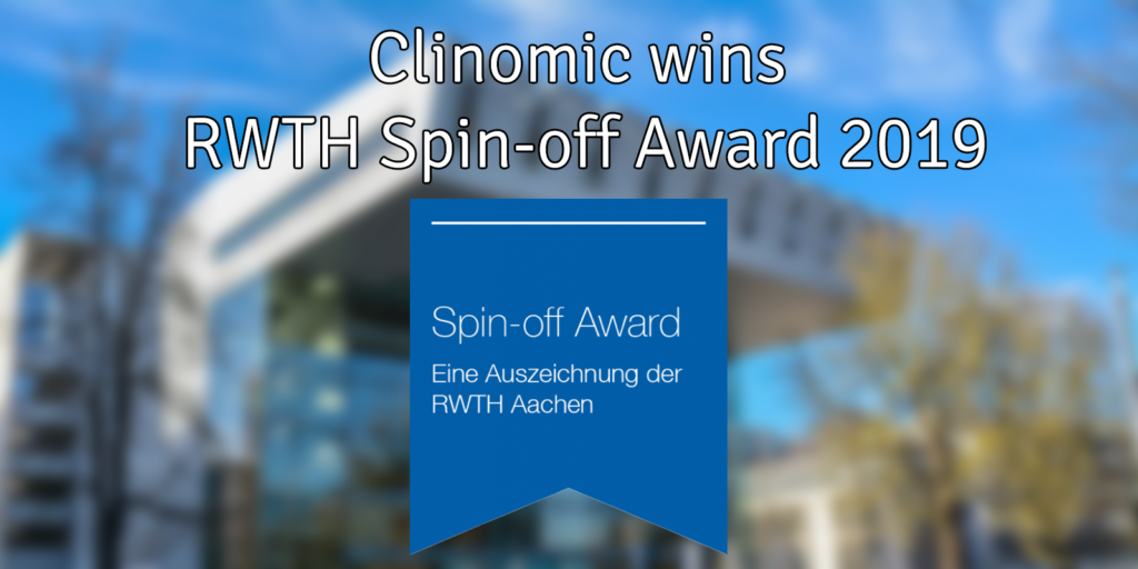 Rwth spin-off award clinomic